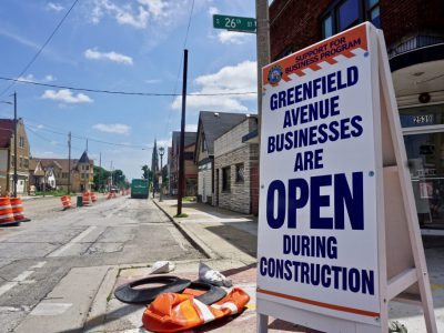 Greenfield Ave. Construction Hurts Local Businesses