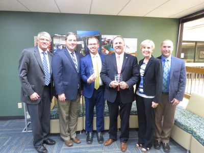 "Rep. Adam Neylon receives WEDA's ""Champion of Economic Development"" Award"