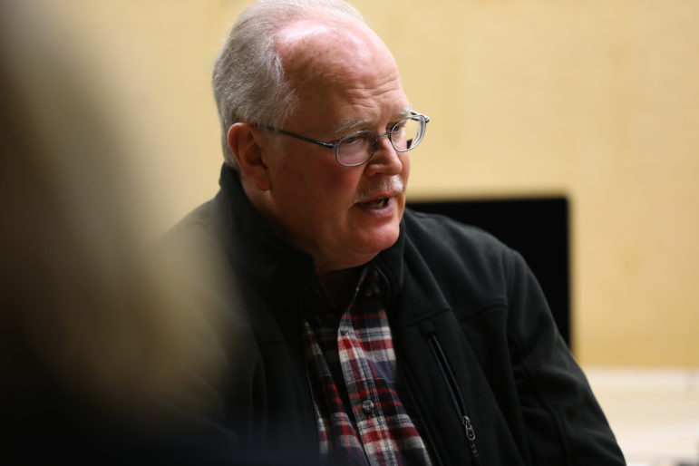 Dale Schultz, who served as a Republican state senator during the 2011 redistricting, recalled that the map makers worked in a locked room where only Republican leaders were allowed in. Photo by Coburn Dukehart / Wisconsin Center for Investigative Journalism.