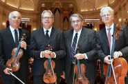 Fine Arts Quartet (L to R, Ralph Evans, Efim Boico, Gil Sharon, Niklas Schmidt