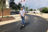 Bird scooter in Milwaukee. Photo by Alison Peterson.
