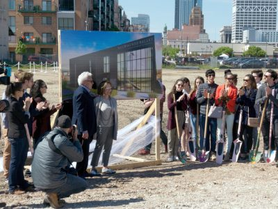 Ballet Breaks Ground on New Center