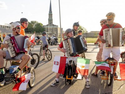 Bike Czar: Join a Bike Ride Under the Polish Moon