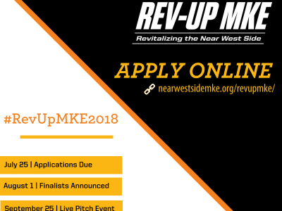 Near West Side Partners Announces 3rd Annual Rev-Up MKE