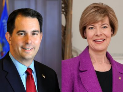 Baldwin, Walker Lead in Latest MU Poll