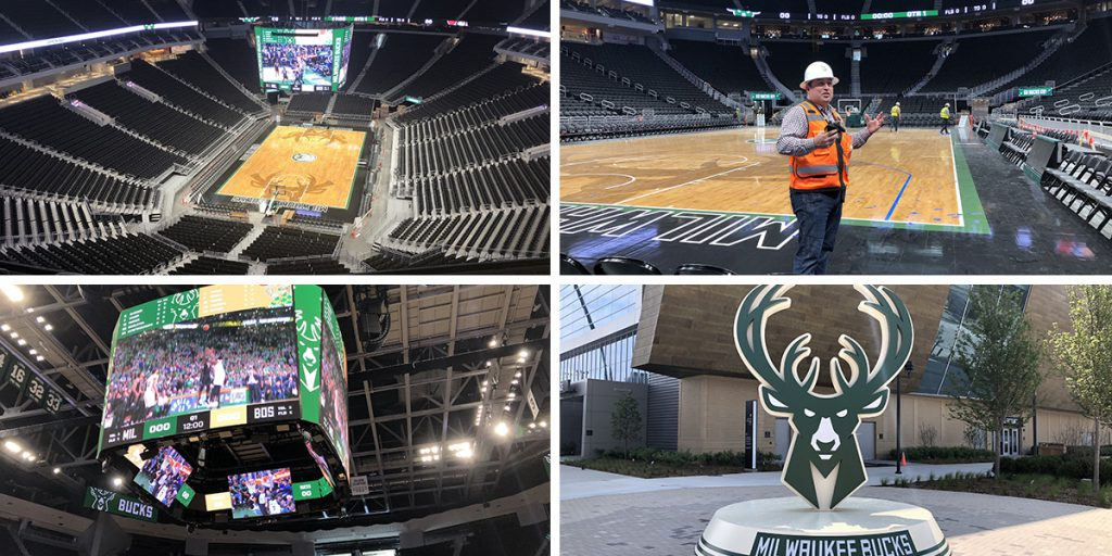 New Bucks Arena Photos. Photos by Jeramey Jannene.