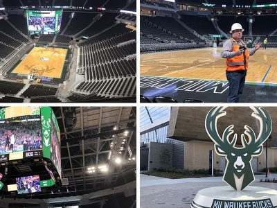 Eyes on Milwaukee: Bucks Show Off Nearly Finished Arena