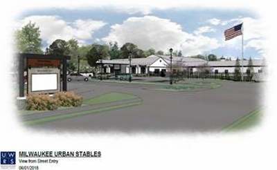 Milwaukee Urban Stables Rendering.