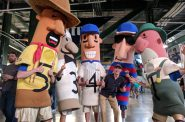 Jacob Wallace and the Racing Sausages. Photo by Thomas Girsch.