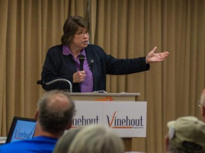 Race for Governor: Vinehout Is Different Kind of Democrat