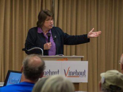 Race for Governor: Vinehout Is Different Kind of Democrat