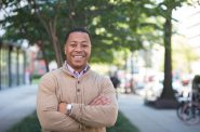 Mahlon Mitchell. Photo courtesy of the Mahlon Mitchell campaign.