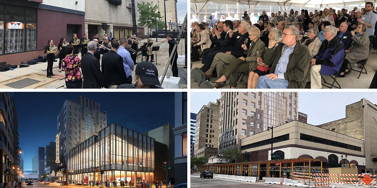 Eyes on Milwaukee: Symphony Breaks Ground on New Hall
