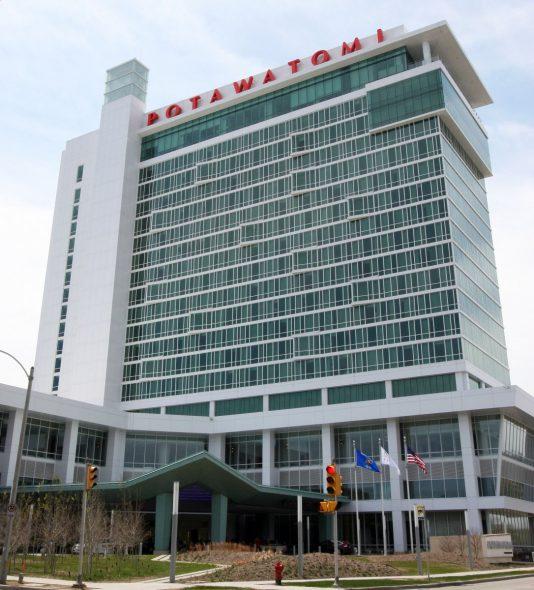 Potawatomi Casino Hotel. Photo courtesy of the City of Milwaukee.