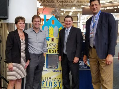 Make Change With Spare Change: New Donation Boxes at Airport to Help Fight Homelessness in Milwaukee County