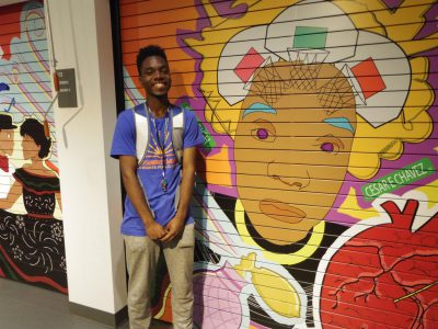 Mitchell St. Library Mural Wins Applause