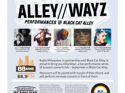 A New Music Performance Series Coming to Black Cat Alley