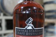 Central Standard New Cabernet Finished Bourbon. Photo from Central Standard Craft Distillery.
