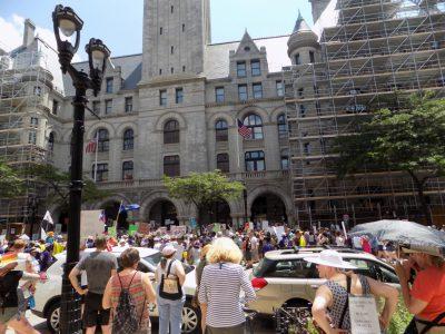Rallies Protest Immigration Enforcement