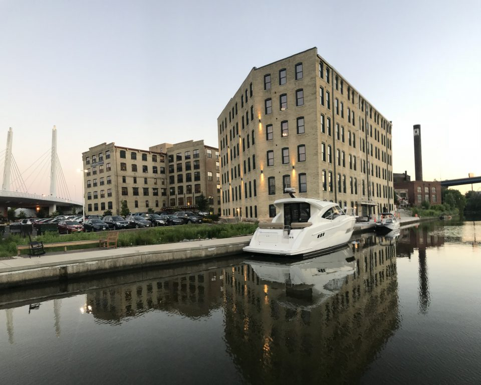 Docks Building. Photo courtesy of River Place Lofts.