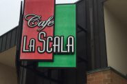 Cafe La Scala. Photo by Cari Taylor-Carlson