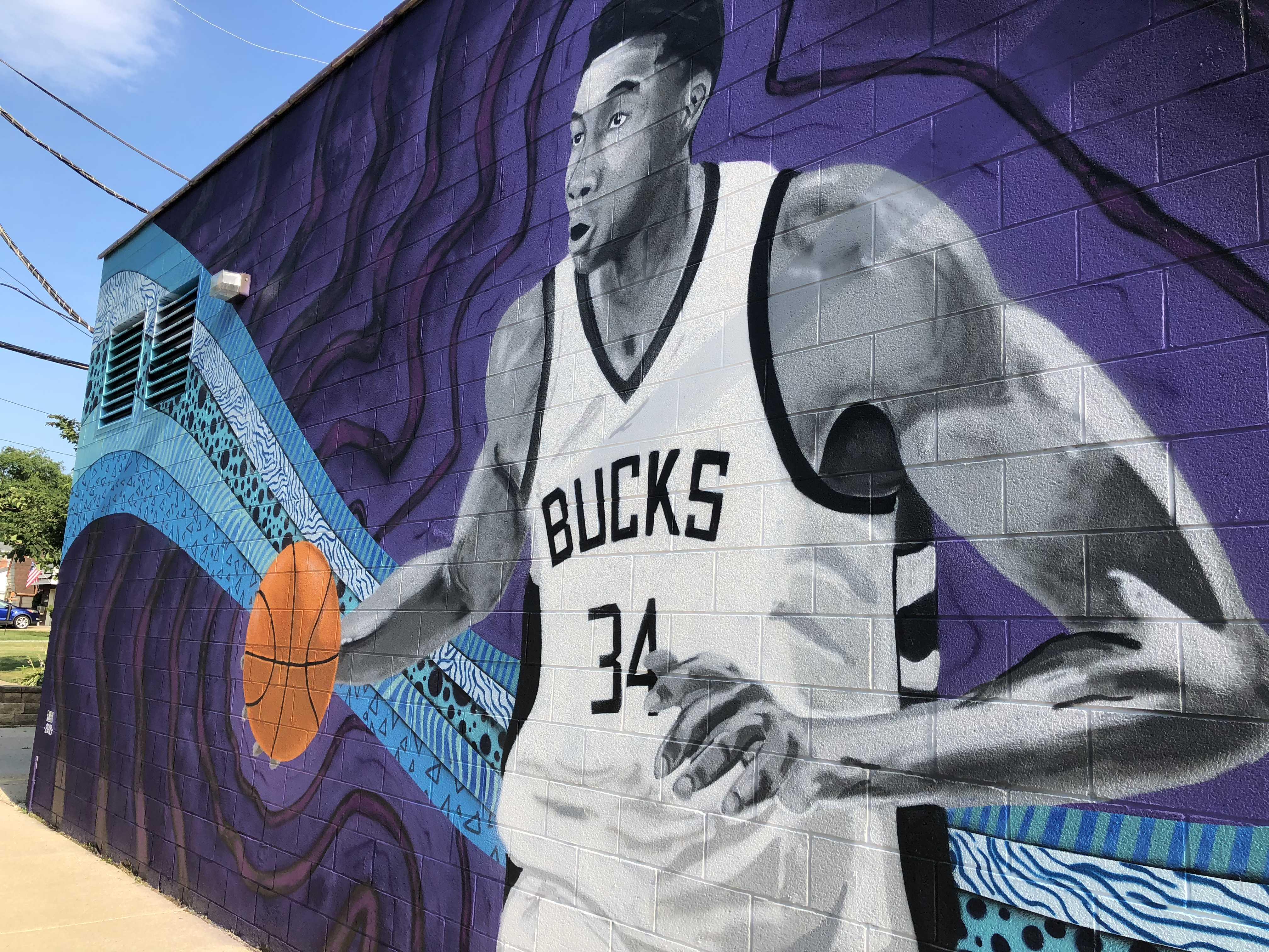 Eyes on Milwaukee: New Giannis Mural on South Side » Urban Milwaukee