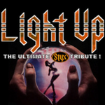 Styx Tribute Band, Light Up, Performs at River Rhythms