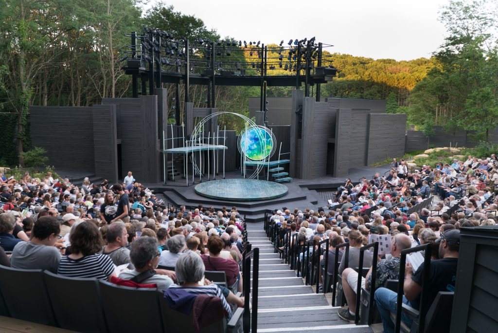 A Midsummer Night's Dream at the On the Hill theater, 2017. Photo by Torey Byrne.