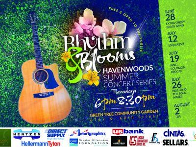 Rhythm & Blooms concert Thursday at Green Tree Community Garden