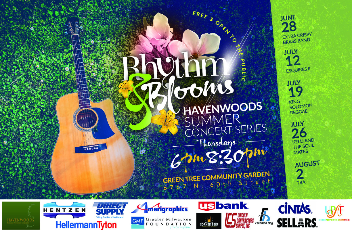 Rhythm & Blooms concert Thursday at Green Tree Community Garden