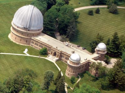 Yerkes Observatory Will Be Closed