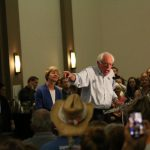 Bernie, Baldwin Rally Voters in Eau Claire