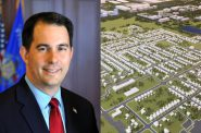 Gov. Scott Walker and Foxconn plan.
