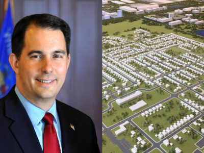 Gov. Scott Walker's Foxconn Effect Includes $56,000 in Taxpayer-Funded 'Walker Air' Fly Arounds
