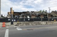 Demolition of 2900 N. Oakland Ave. Photo by Jeramey Jannene.
