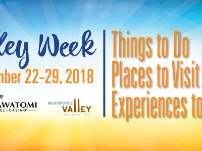 Valley Week runs September 22-29