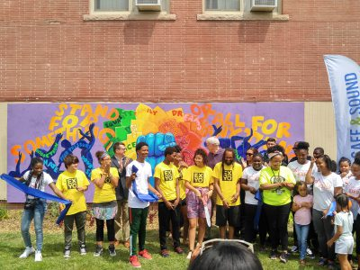 Safe & Sound Unveils Another Youth Mural
