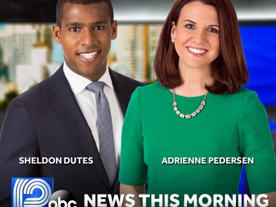 "WISN 12'S Adrienne Pedersen Joins Sheldon Dutes as Co-Anchor on ""WISN 12 News This Morning"""