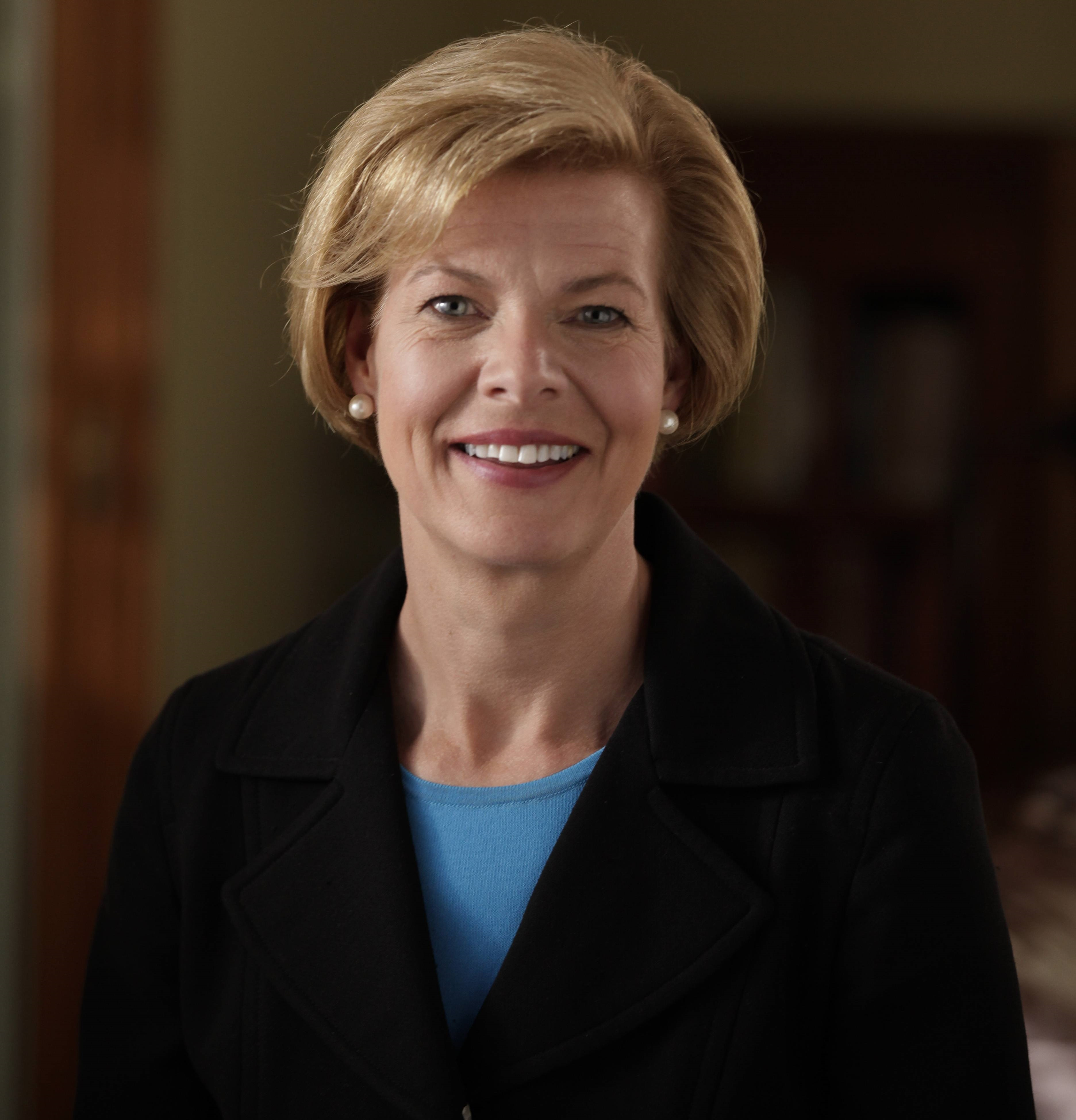 Tammy Baldwin. Photo courtesy of Tammy Baldwin for Senate.