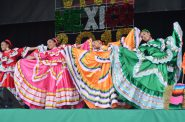 Ballet Folklorico DAOM of Marina Croft. Photo by Jack Fennimore.