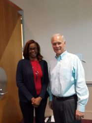 Cindy Werner and Ron Johnson.