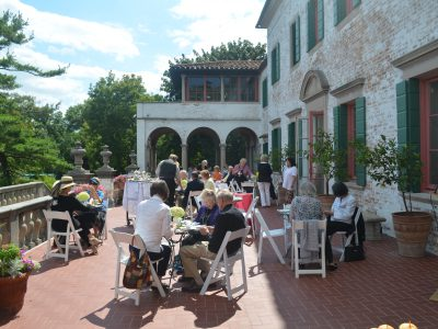 The Villa Terrace Decorative Arts Museum Presents an Outdoor Summer Tea-tasting Sunday, August 12 from 3 to 5:00 P.M.