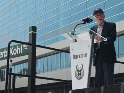 Eyes on Milwaukee: Bucks Honor Herb Kohl at Arena Opening