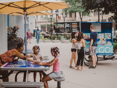 Downtown GO! Kart debuts on Wisconsin Avenue with tabletop games