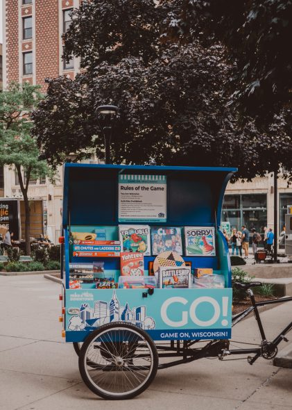 Downtown GO! Kart. Photo courtesy of Milwaukee Downtown.