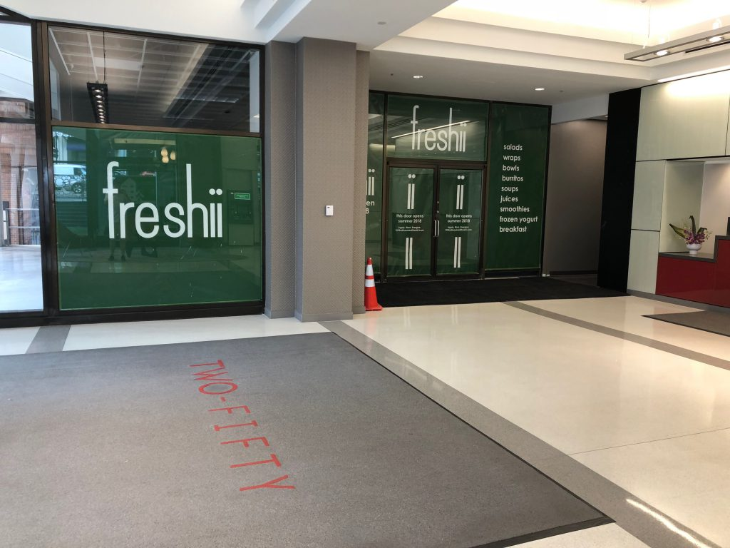 Freshii, 250 E. Wisconsin Ave. Photo by Jeramey Jannene.