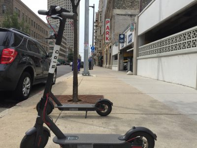 Transportation: Scooters Legalized But Not on Sidewalks
