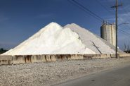 Salt at the Port of Milwaukee. Photo by Jeramey Jannene.