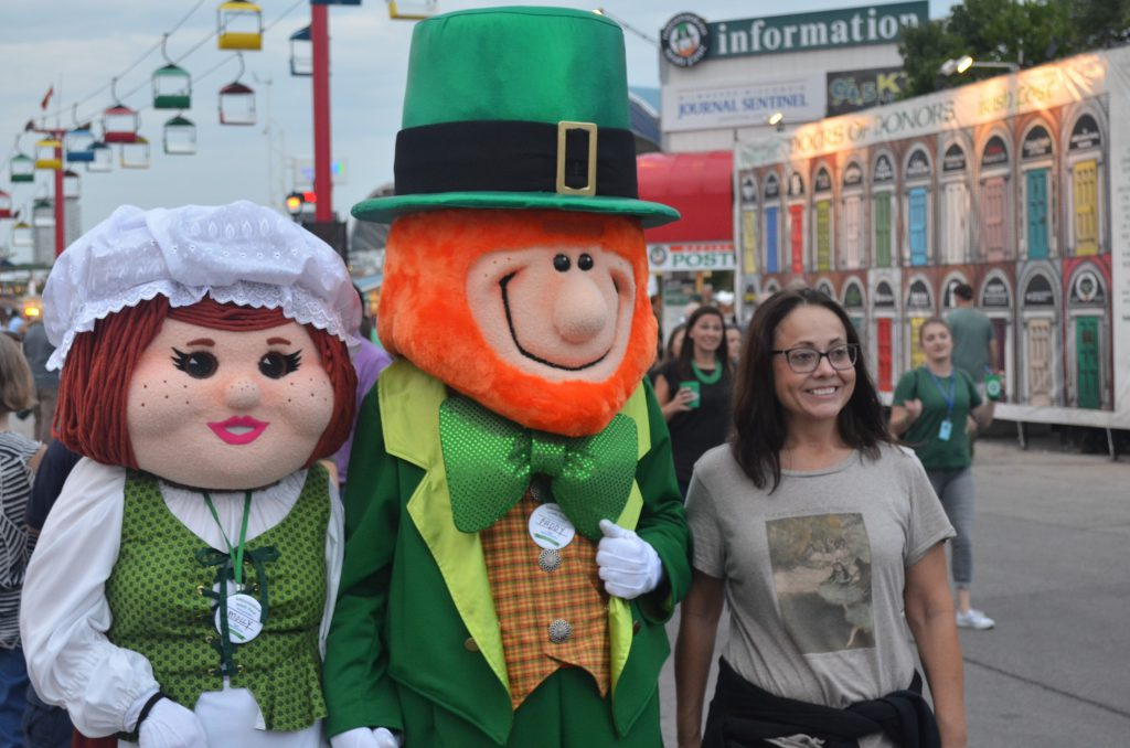 Molly and Paddy McFest at Irish Fest 2018. Photo by Jack Fennimore.