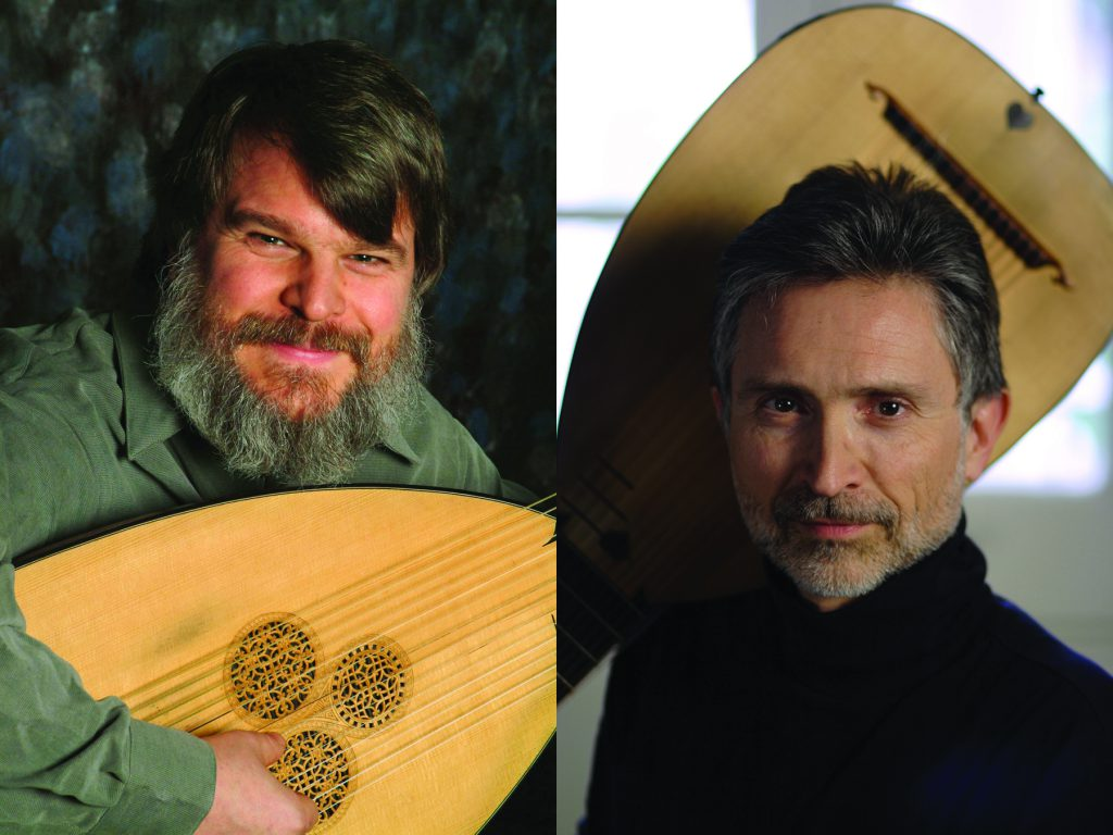 Ronn McFarlane & Paul O'Dette. Photo courtesy of Early Music Now.